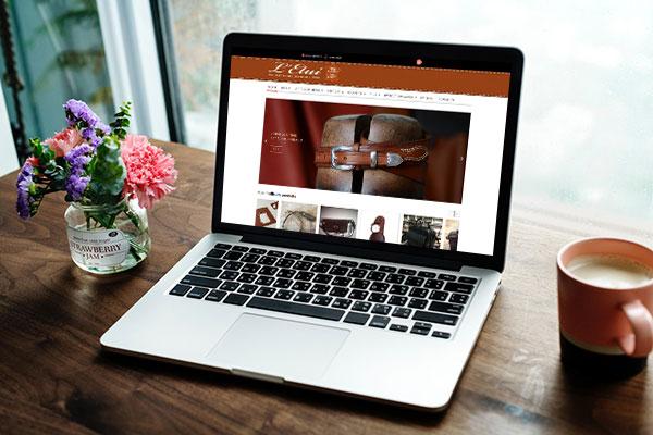 boutique en ligne pour le sellier maroquinier à La Rochelle Bruno Barreau